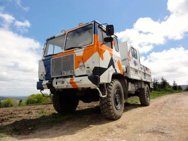 Scania SBA 111 Bois Noir